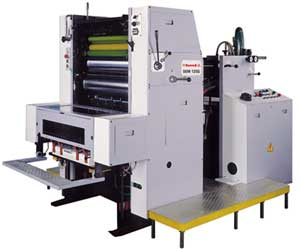 Single Colour Sheetfed Offset Printing Machine SOM 125G/125N/125B