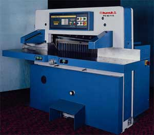 Programmable Guillotines PG 92 AND PG 115