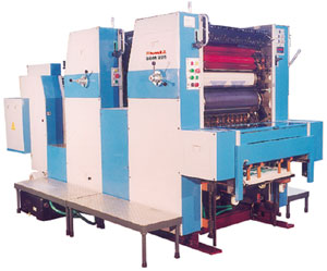 Two Colour Sheetfed Offset Printing Machine SOM 225/225N/220/220N