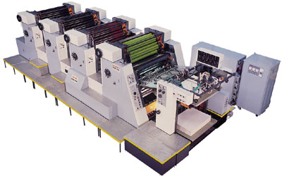 Four Colour Sheetfed Offset Printing Machine SOM 425/425C/204